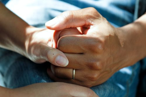 how to care for someone going through a difficult time